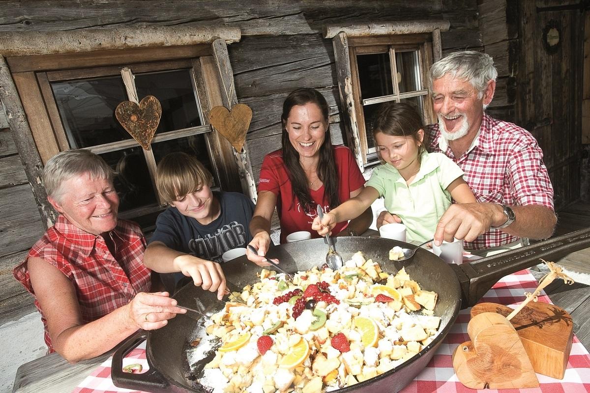 Impressies uit de adembenemende kitzb heler alpen - Idee gezellige maaltijd ...